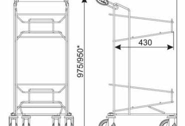 Dimensiuni suport 2 cosuri